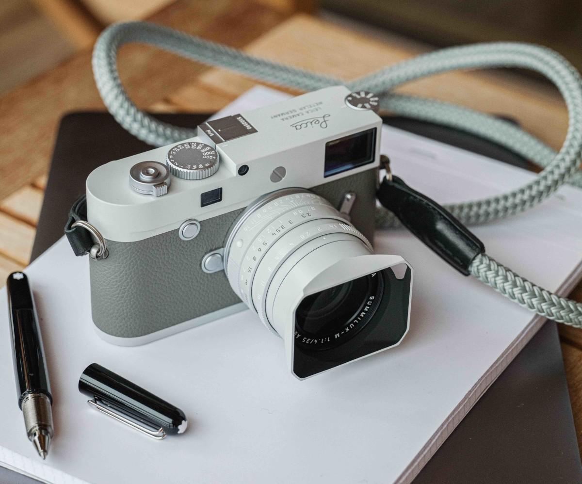 Hodinkee x Leica Ghost Edition