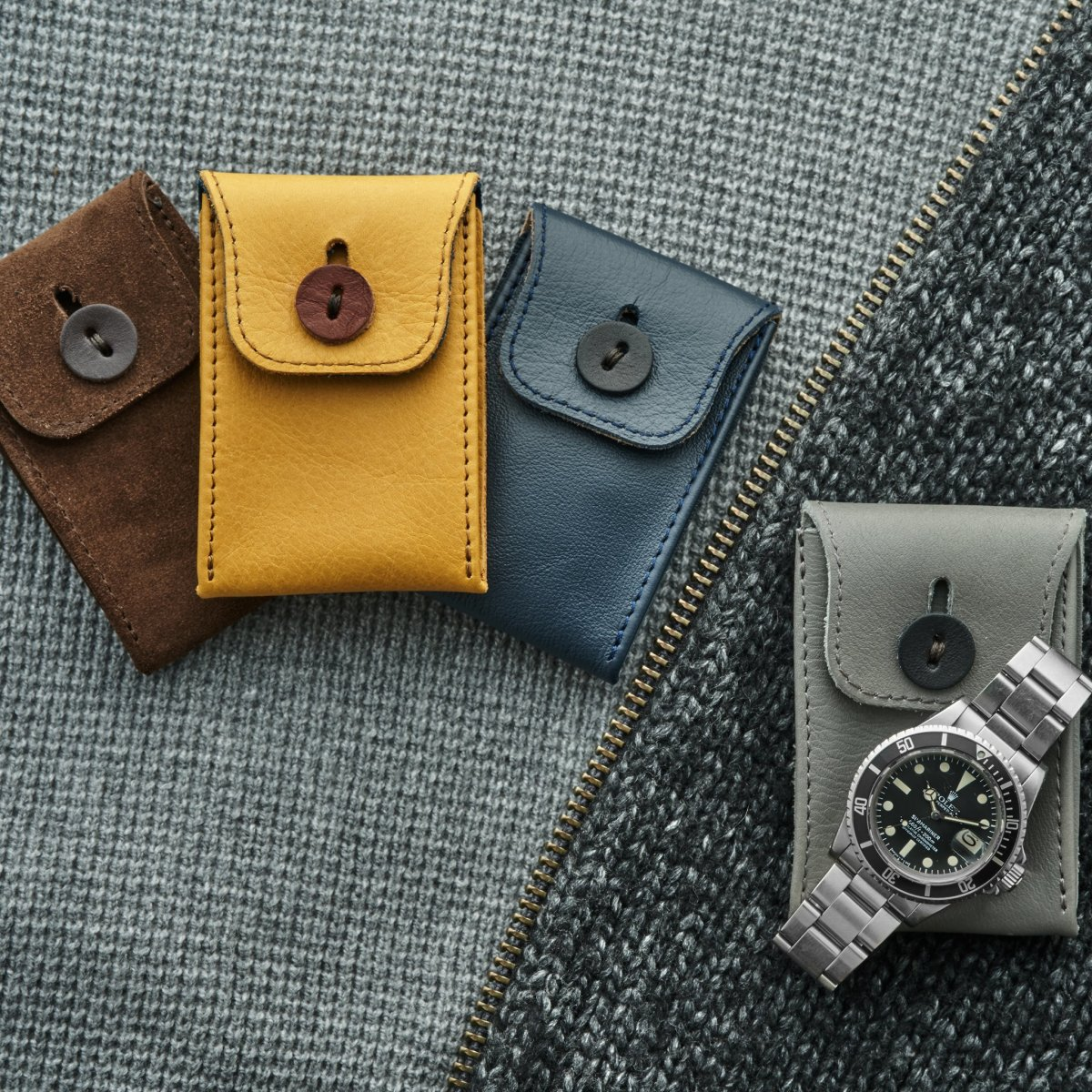 Hodinkee Mini Leather Watch Pouch