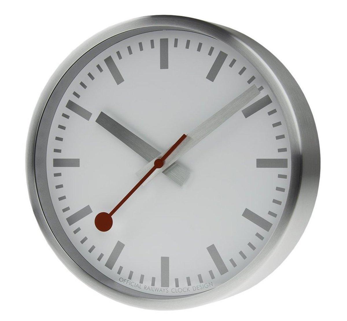 Mondaine Modern Swiss Railways Clock
