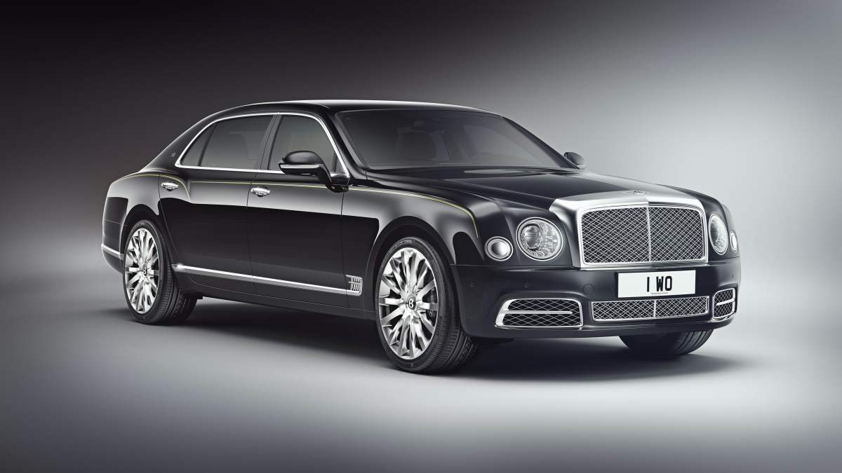Bentley Mulsanne Extended Wheelbase for China