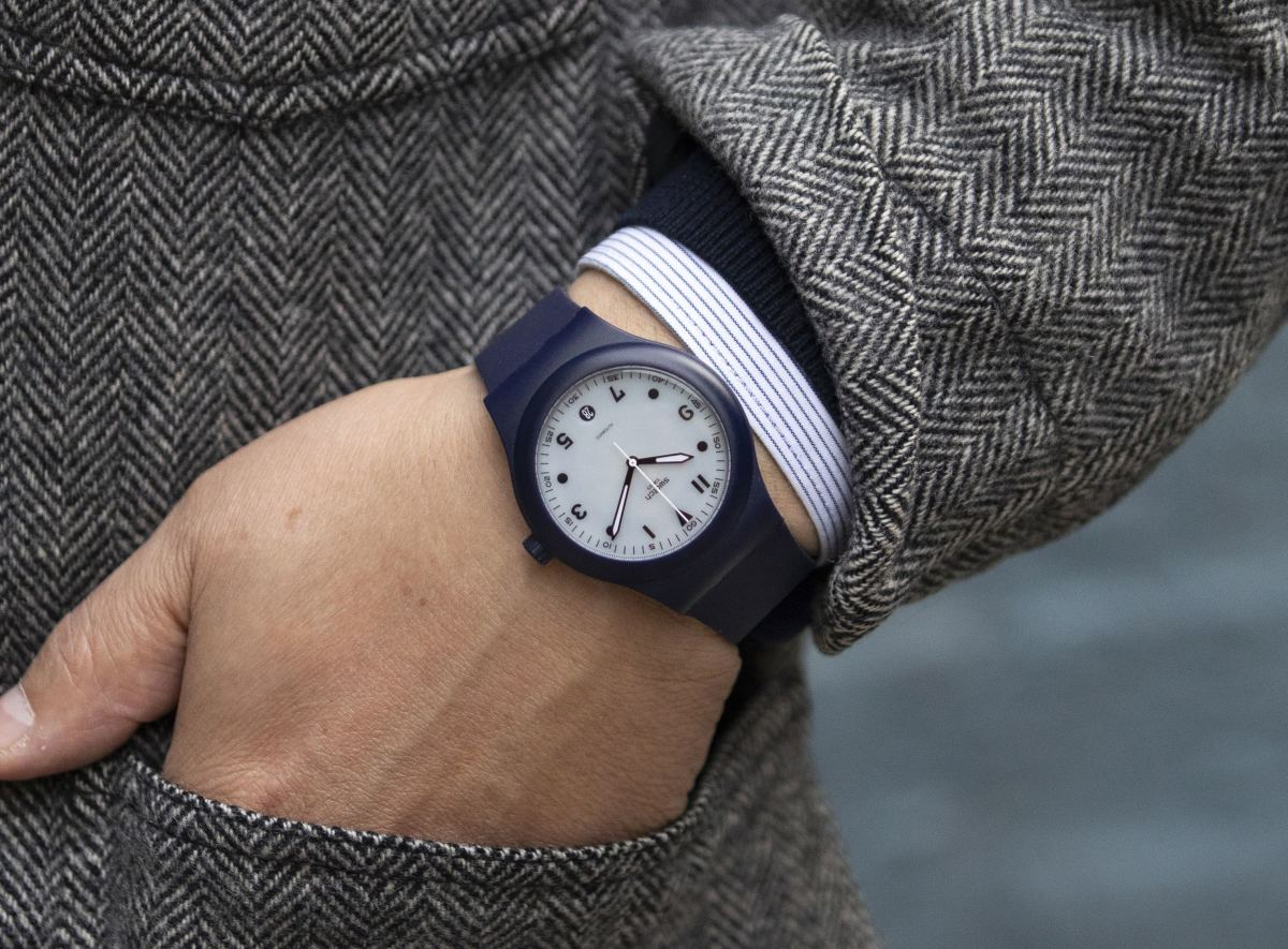 Swatch Sistem51 Blue Edition for HODINKEE