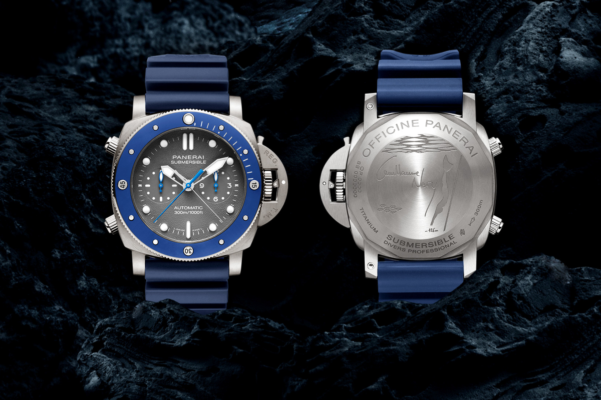Panerai previews a watch that's worthy of a freediving champion