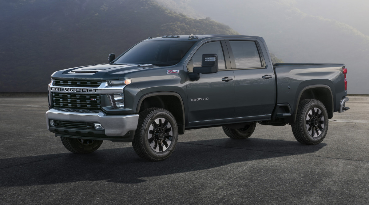 The 2020 Chevy Silverado HD has a grille that looks like it can swallow a planet - Acquire