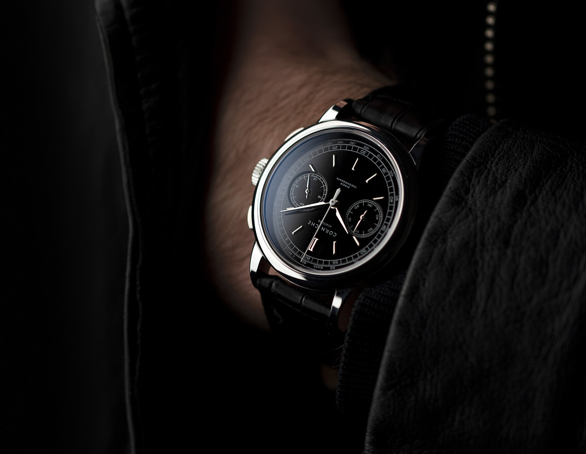 Corniche channels classic watch design with the Heritage Chronograph