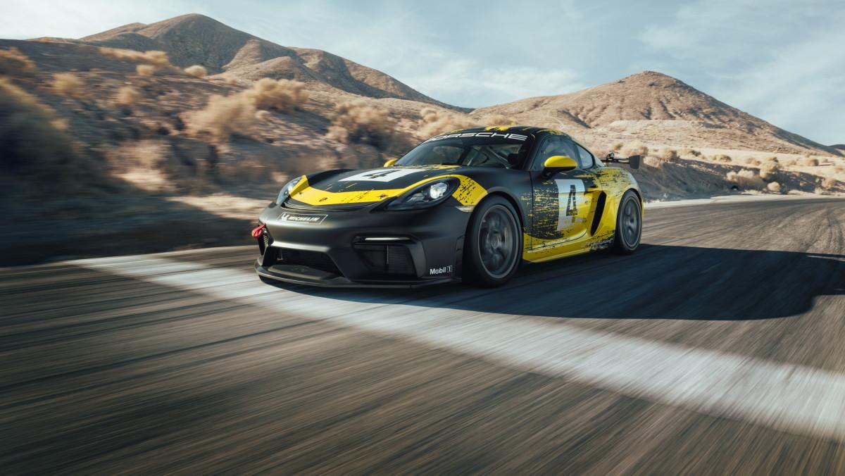 2019 Porsche Cayman GT4 Clubsport