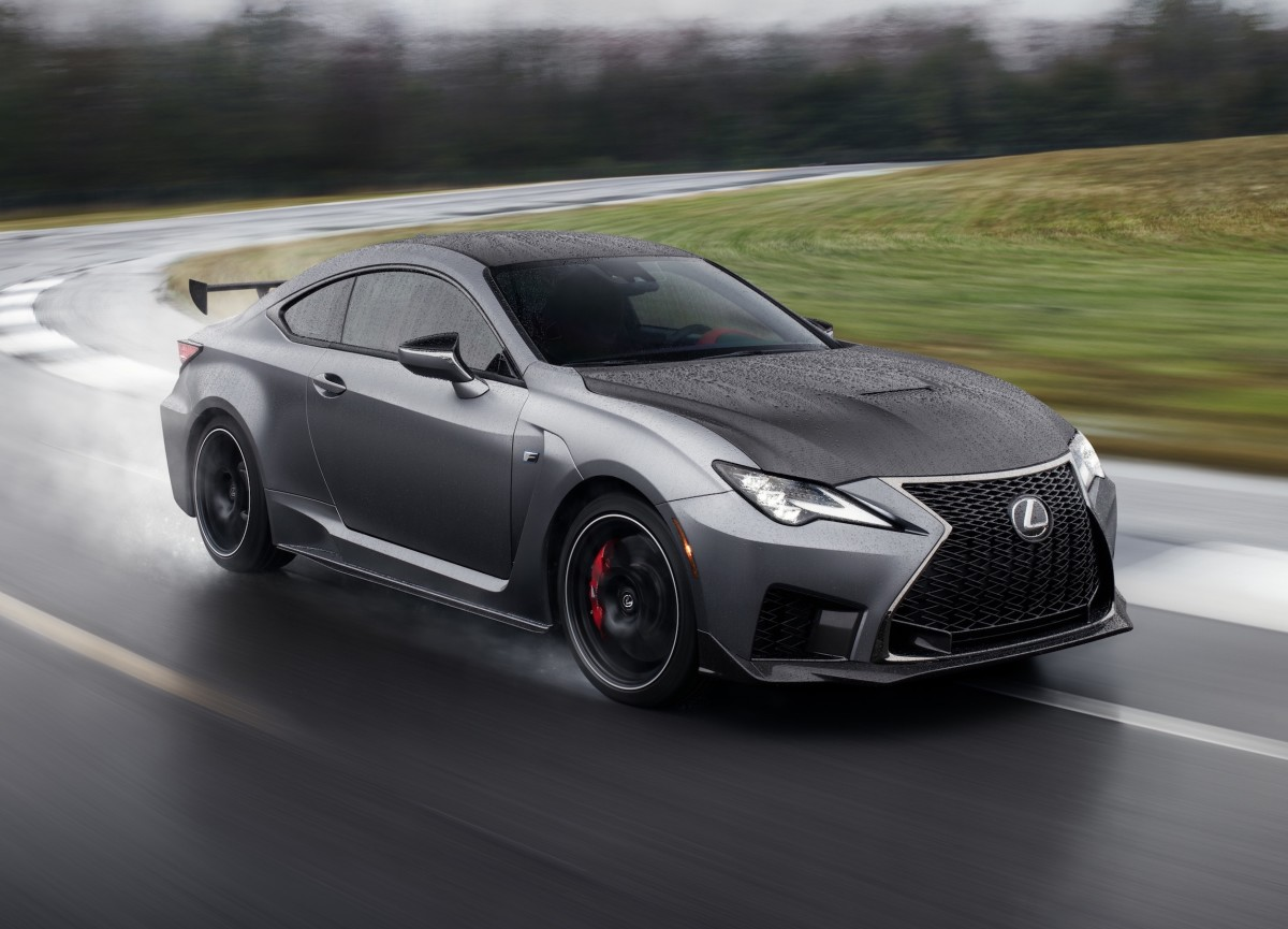 The Lexus Rc F Gets A New Track Edition For The 2020 Model