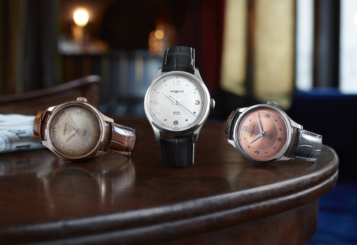 2019 Montblanc Heritage Collection