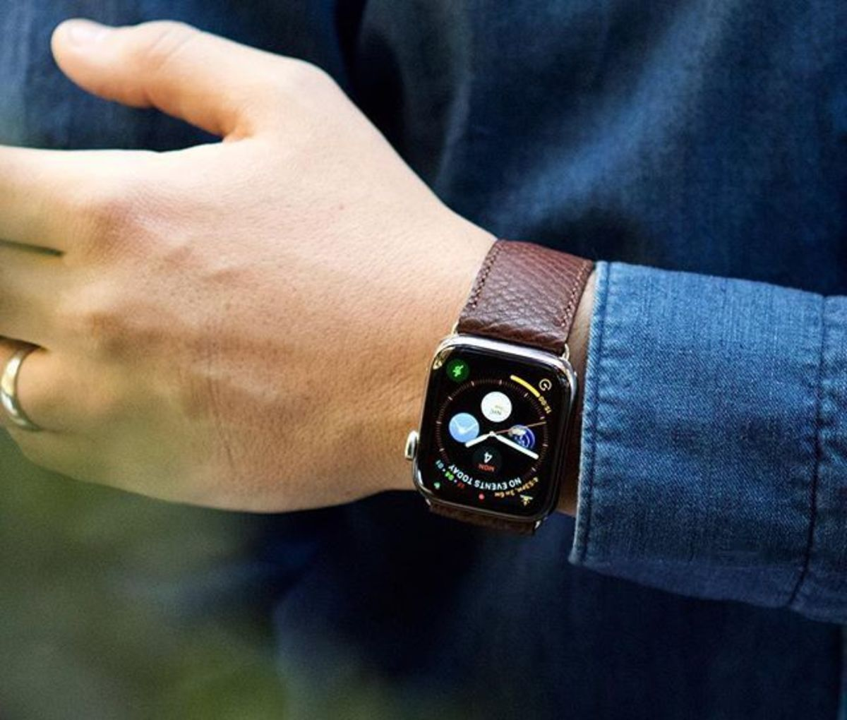 George Cleverley Apple Watch Strap
