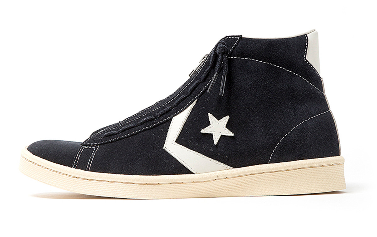 Converse and nonnative bring back their Pro Leather Hi for SS19