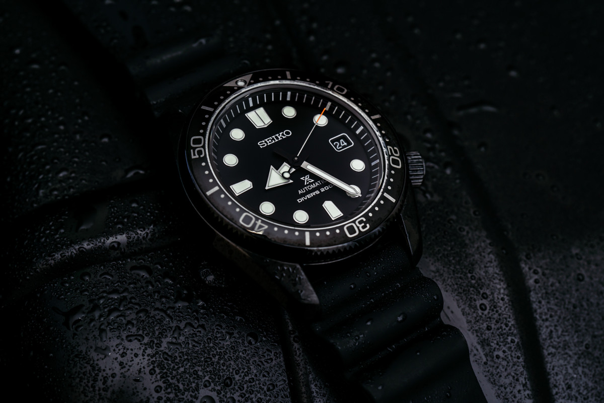 Seiko releases a blacked-out edition of the Prospex Diver SPB107