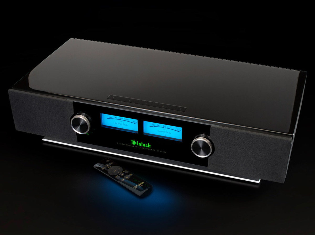 McIntosh launches its latest wireless speaker system, the RS200