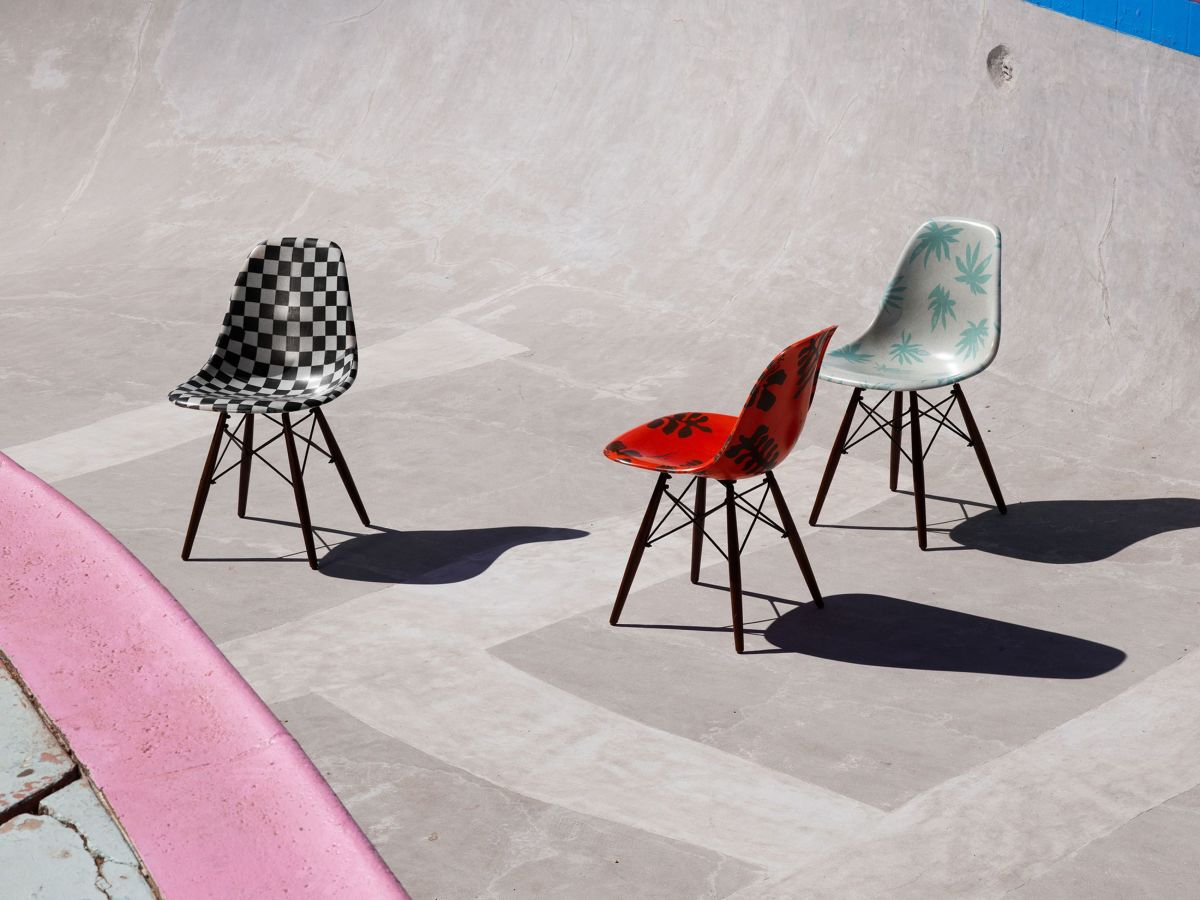 Modernica teams up with Vans Vault on a limited edition shell chair