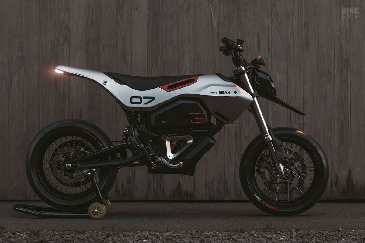 Huge Moto reveals a futuristic redesign of the Zero FXS