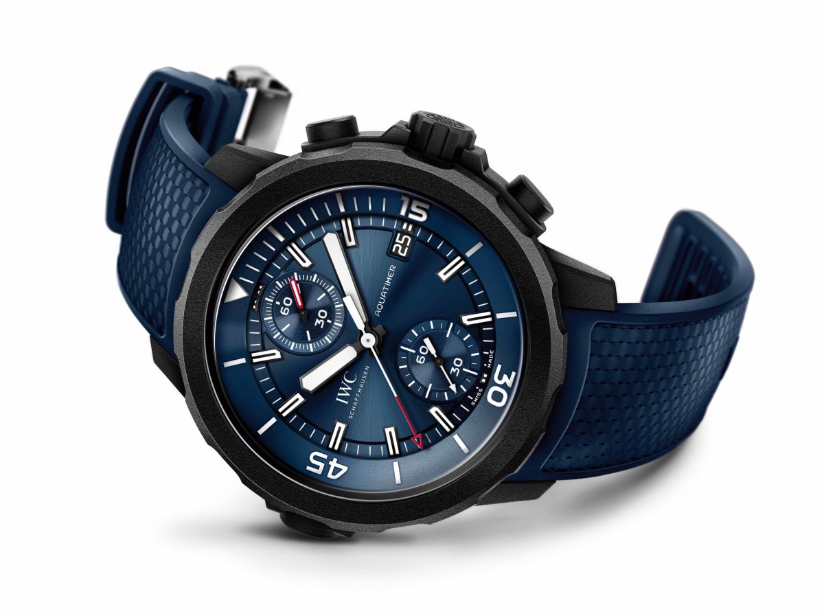 "IWC launches its latest ""Laureus Sport for Good"" edition"