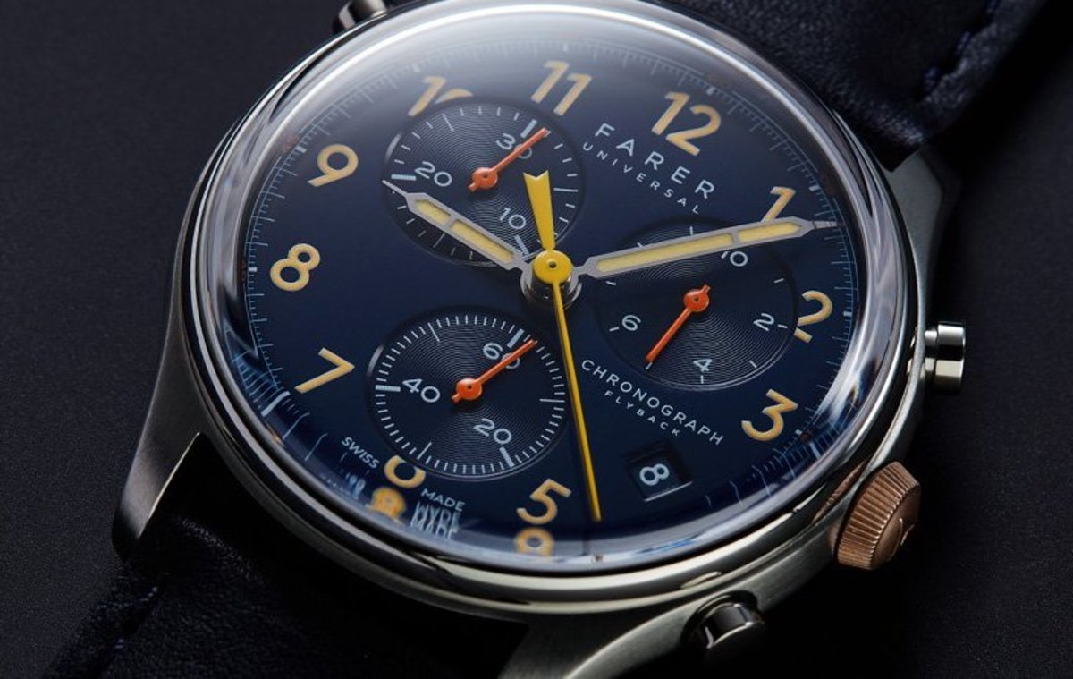 Farer releases their new Flyback Chronographs