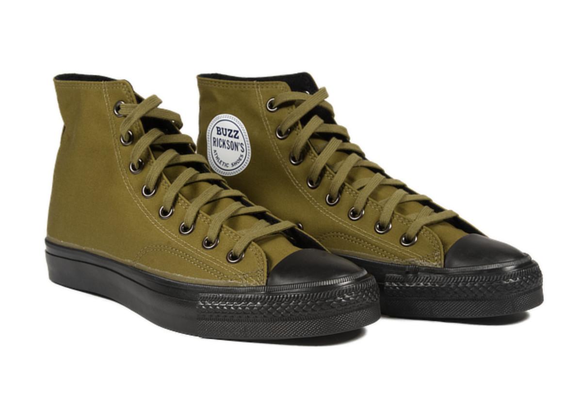 Buzz Rickon's Ventile Sneakers