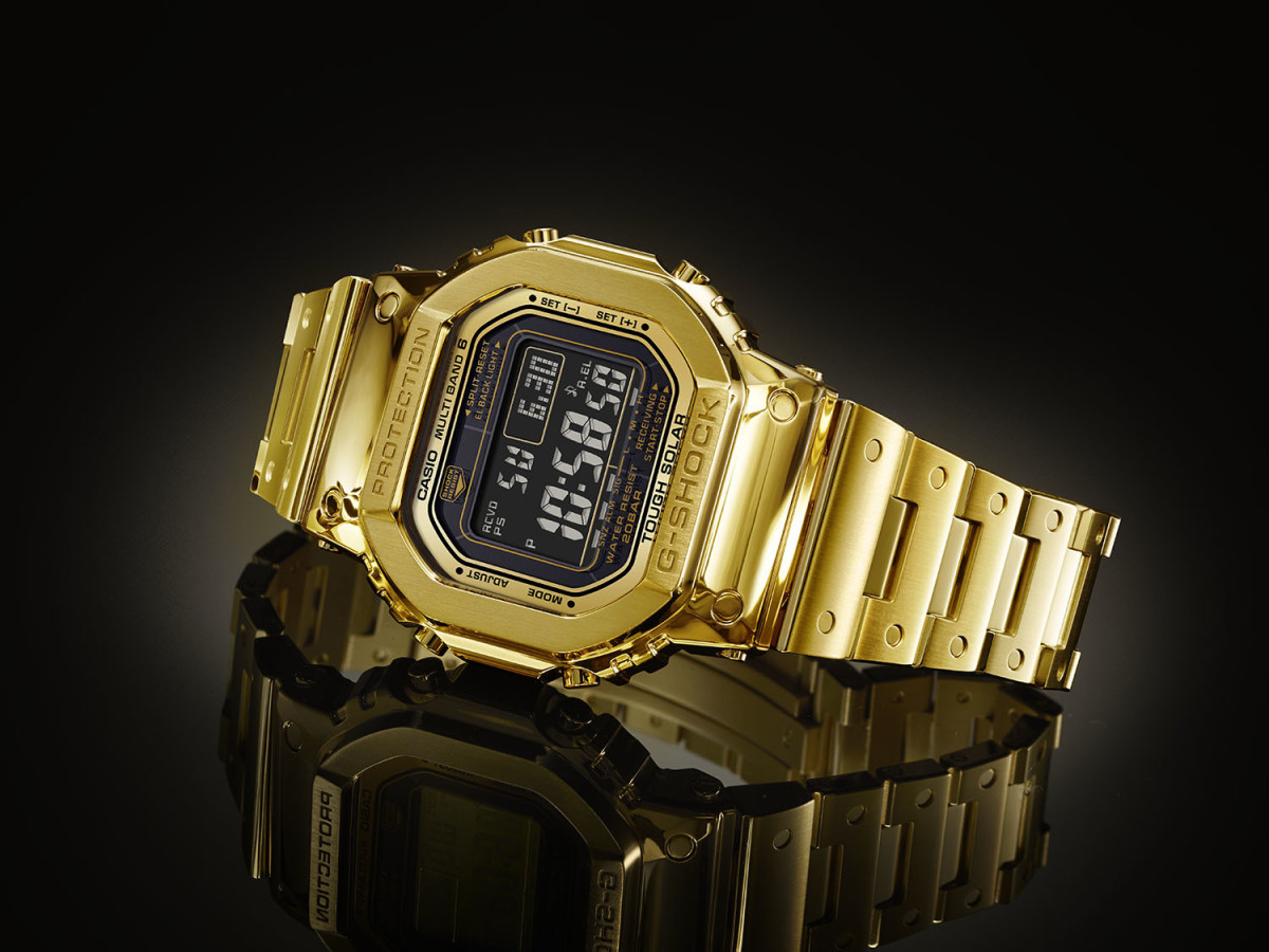 Casio G-Shock 18K Gold