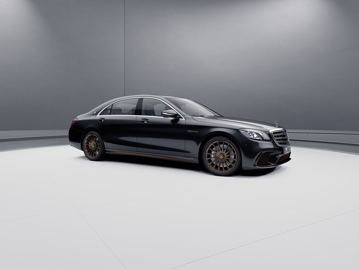 Mercedes Benz S 65 Final Edition