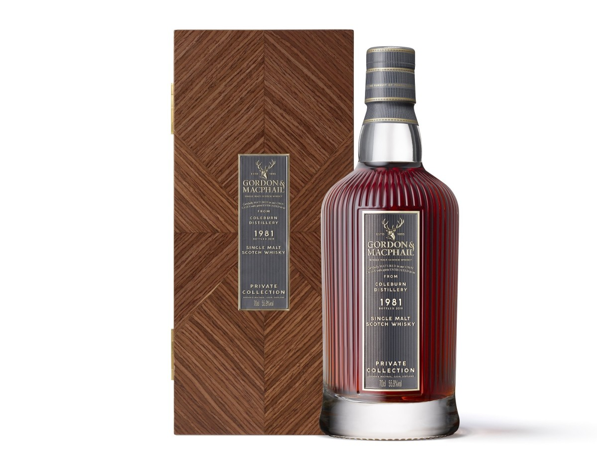 Gordon and Macphail Private Collection Coleburn