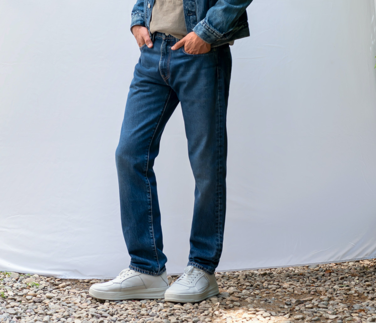 Levi's Recycled Denim 502