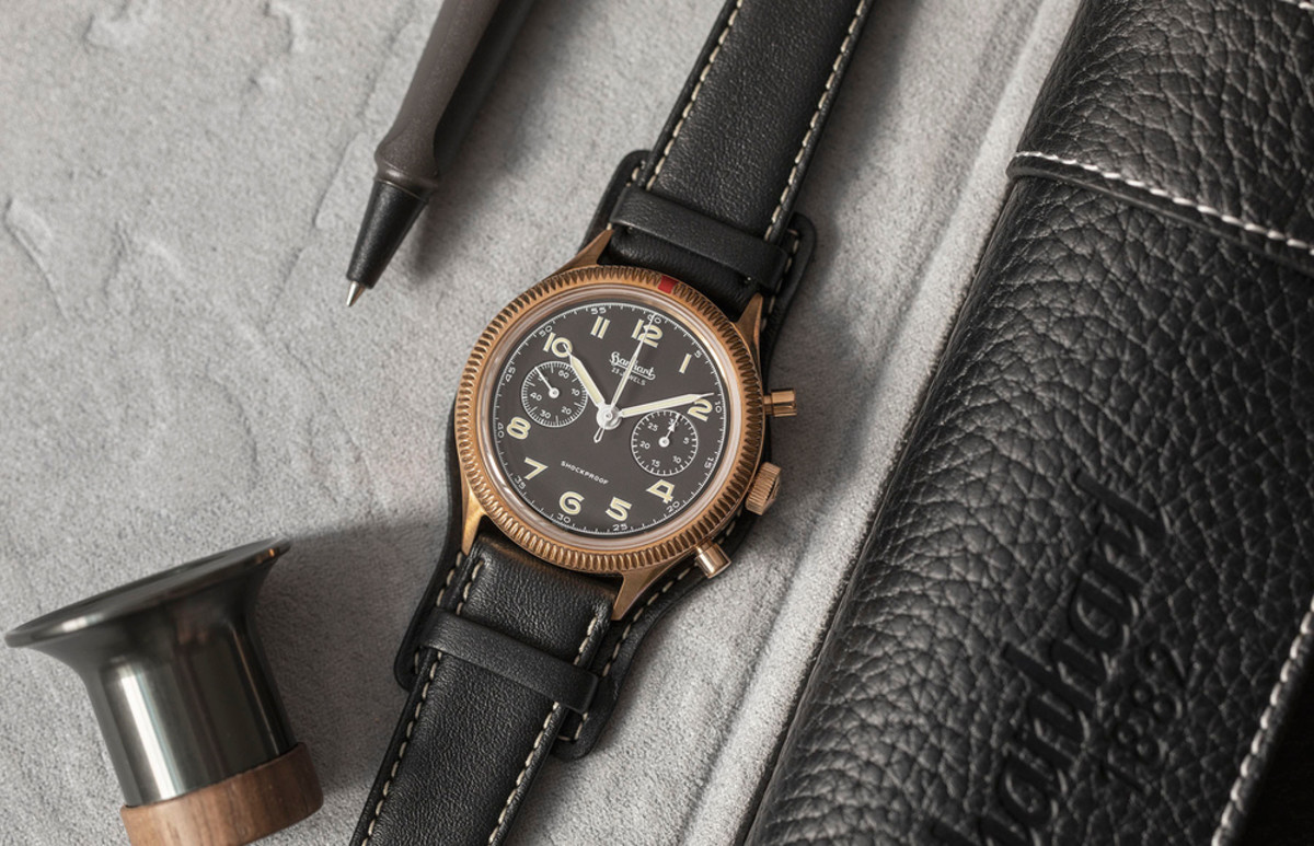 Hanhart, The Rake, and Revolution reissue the 417 Chronograph