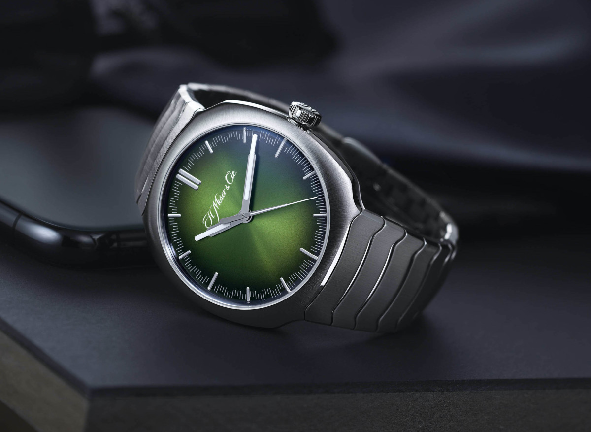 H. Moser Cie Streamliner Matrix Green