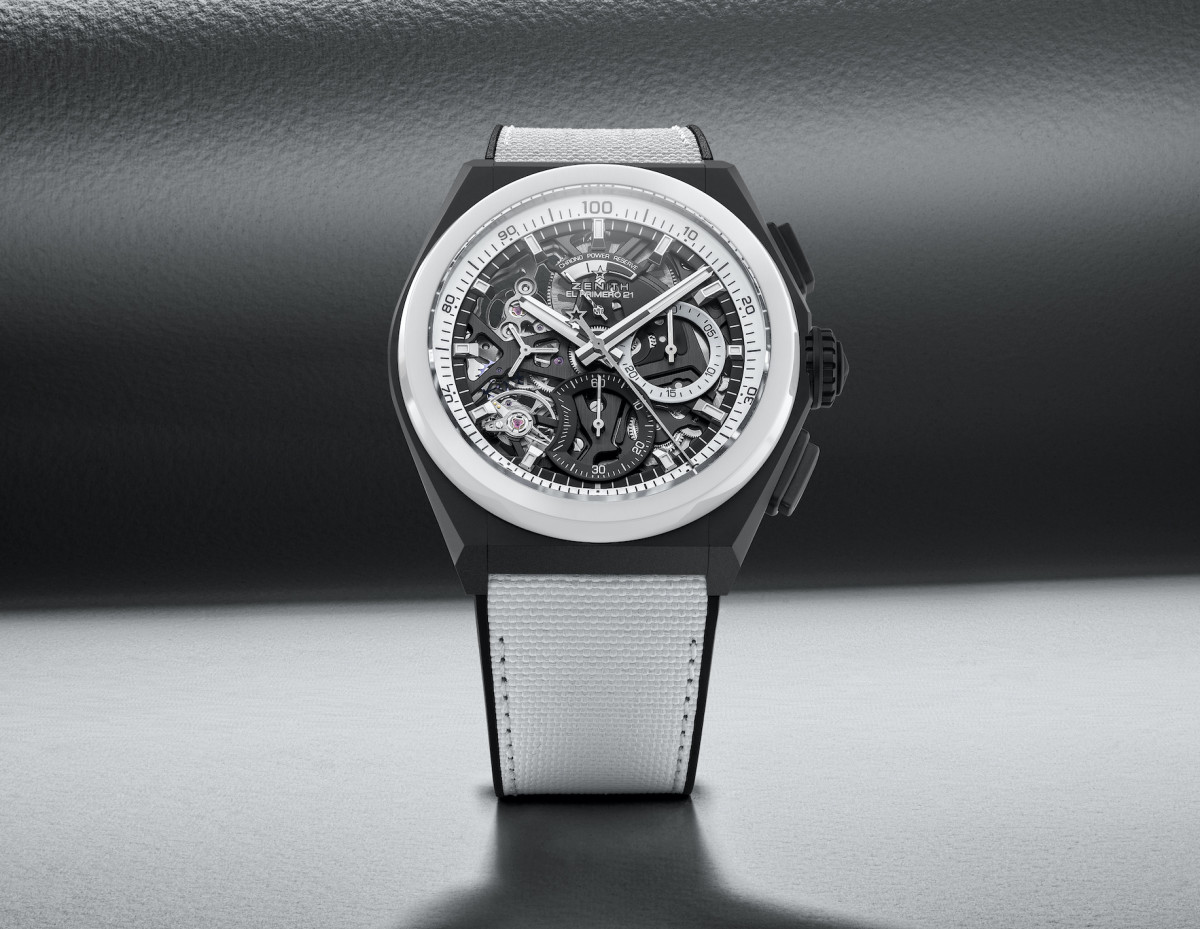 Zenith Defy Black and White
