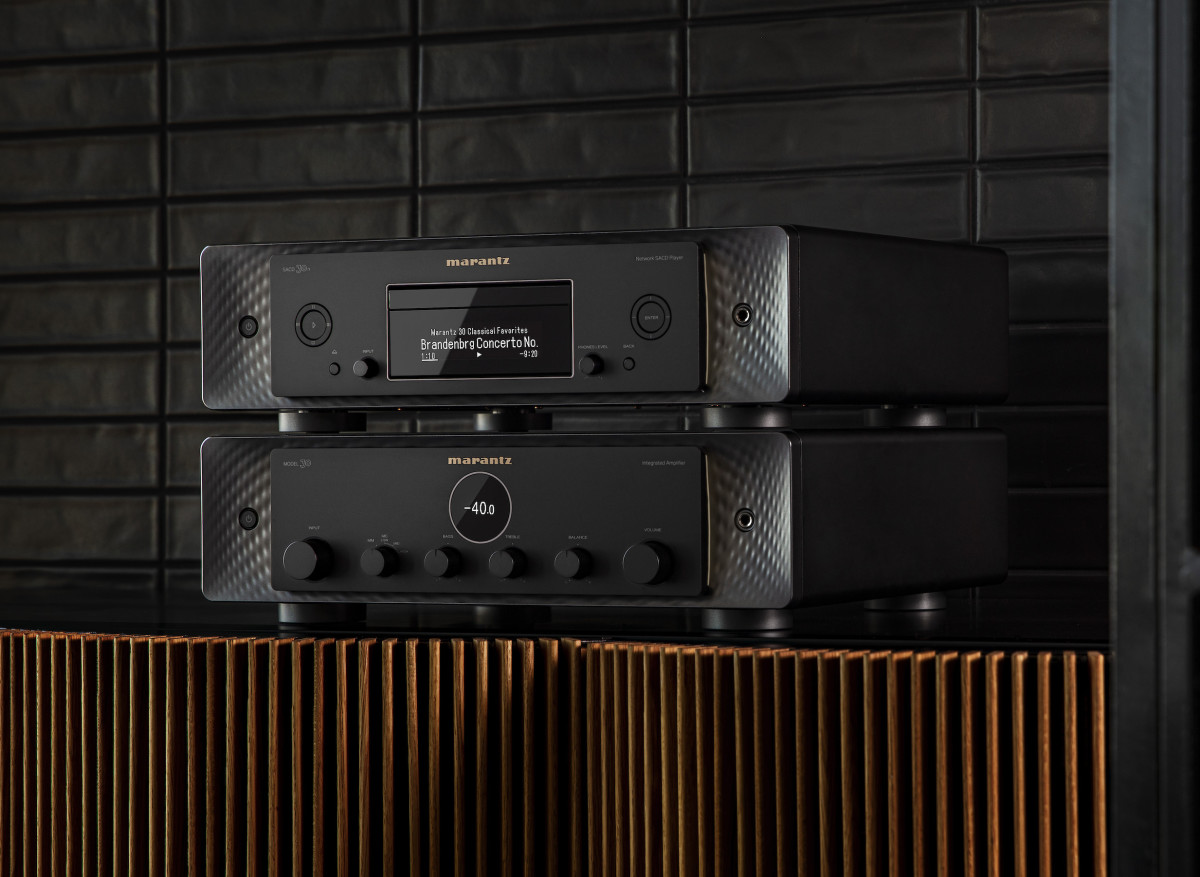 Marantz Model 30 and SACD Player