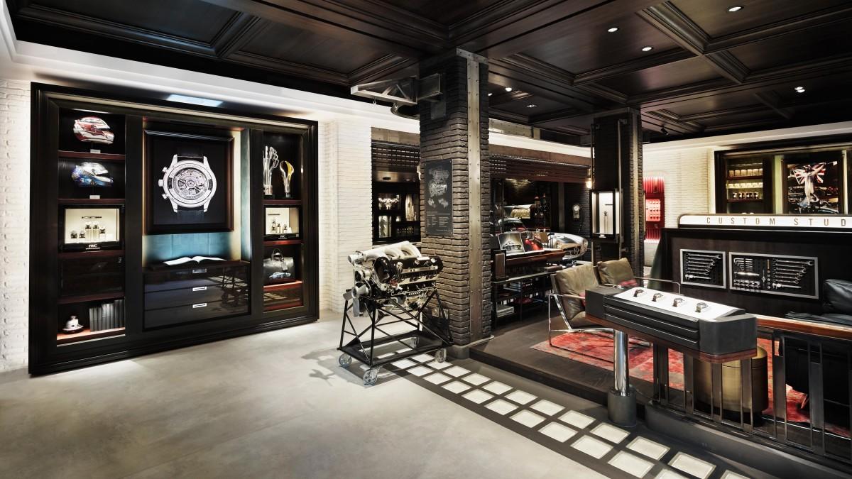 IWC Zurich Boutique Concept
