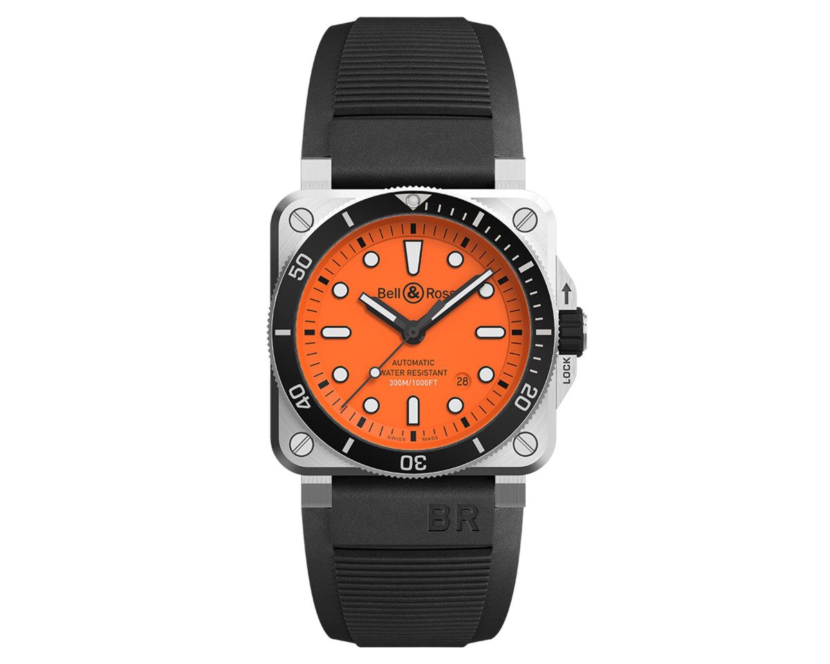 Bell & Ross Orange Diver