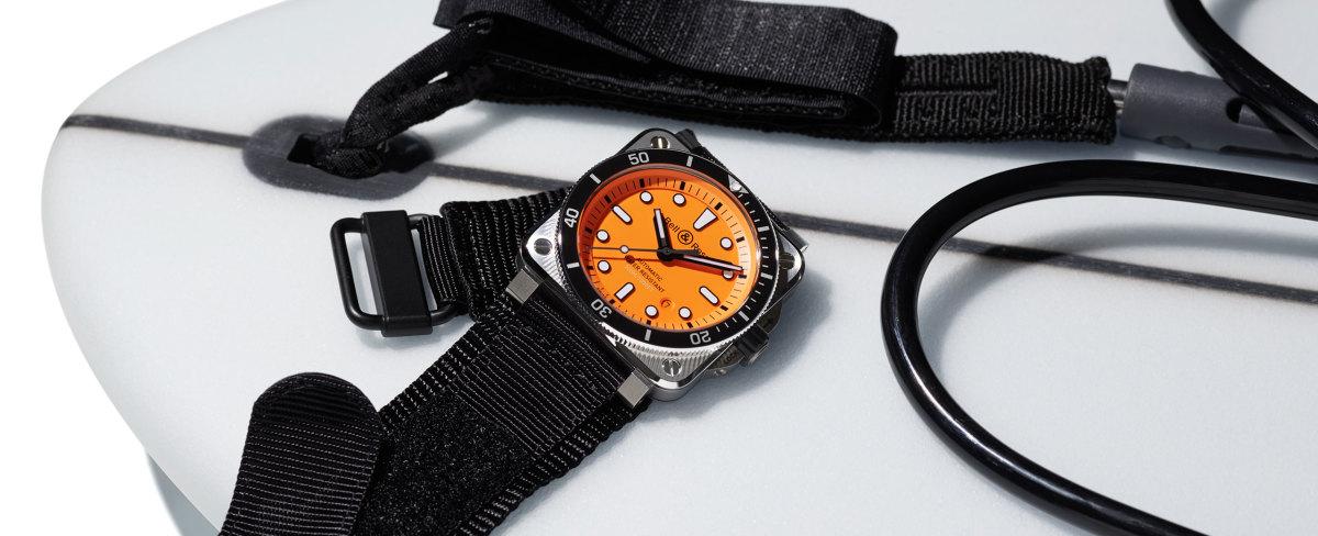 Bell & Ross releases its BR 03-92 Diver Orange