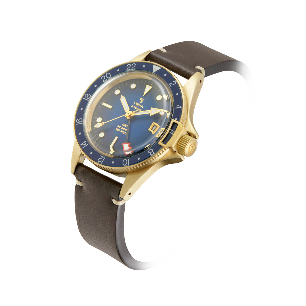 Yema Superman GMT Bronze