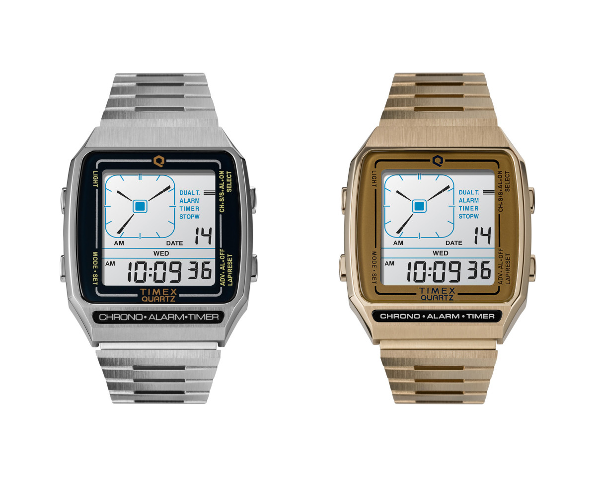 Q Timex Digital LCA