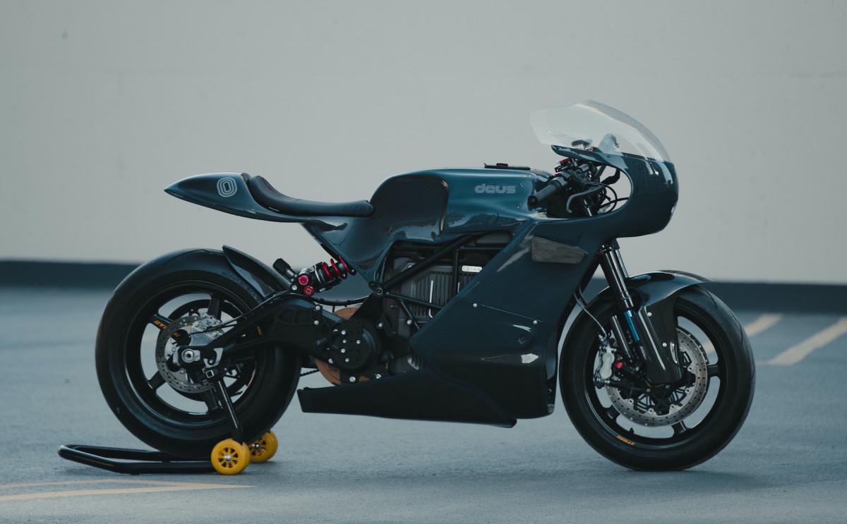 Deus x Zero Motorcycles