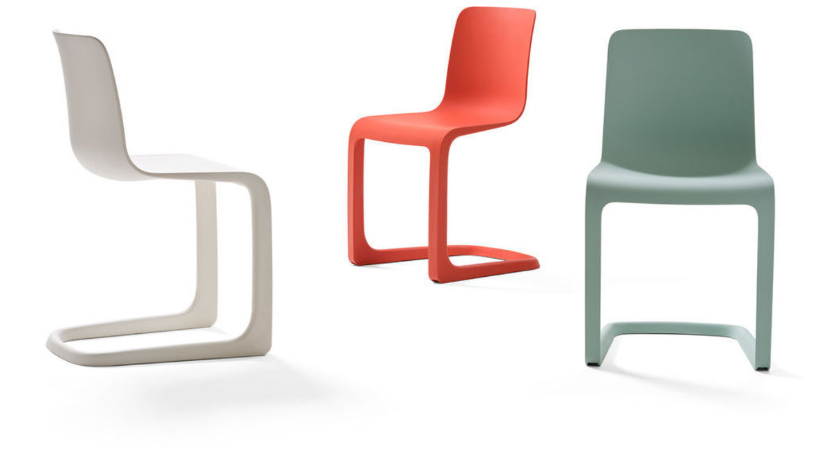 Vitra Cantilever Chair by Jasper Morrison