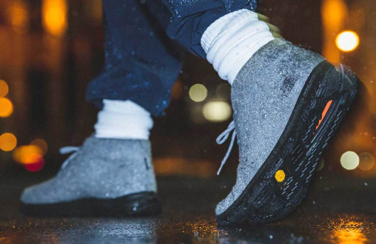 The North Face Japan injects its lightweight Velocity Wool Chukka with Gore-Tex Invisible Fit technology