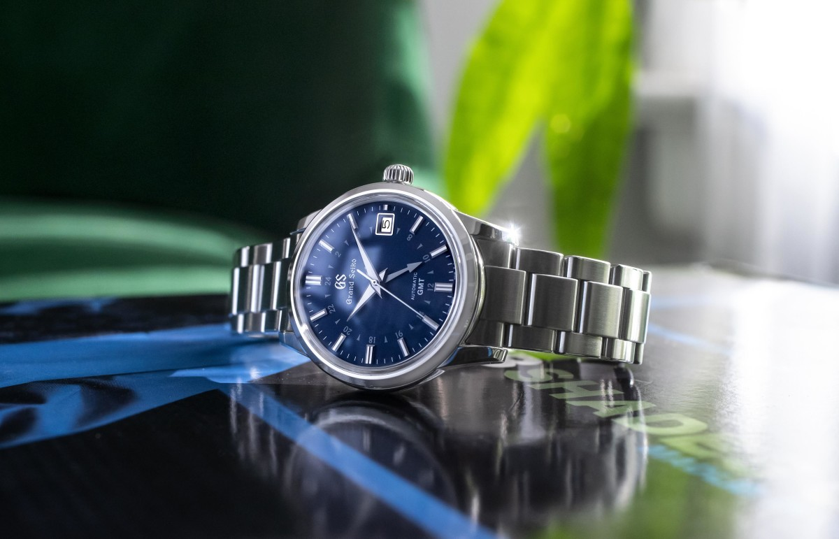 Hodinkee x Grand Seiko Automatic GMT SBGM239