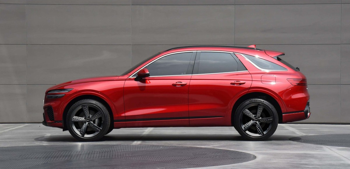 Genesis previews its next SUV, the GV70