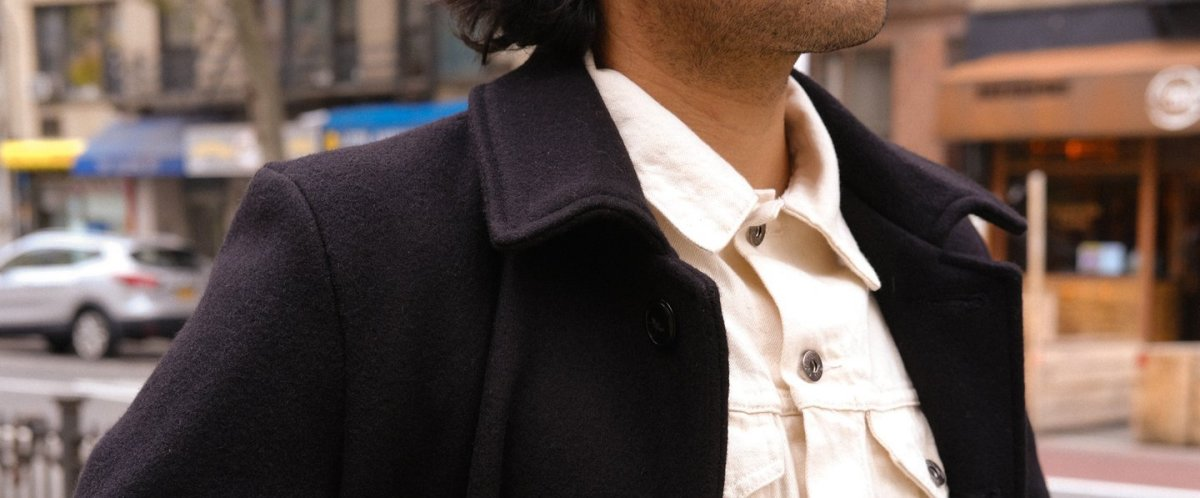 3sixteen and Schott release their latest collaboration, the Officer Coat