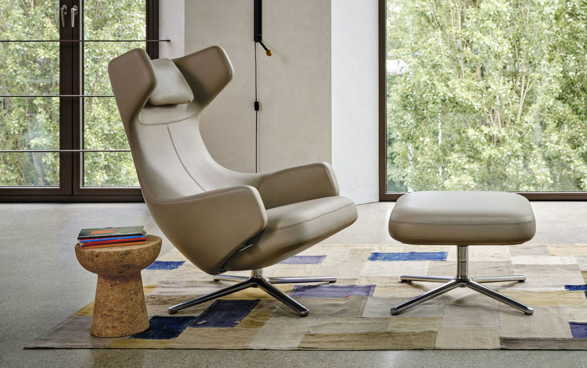 Vitra Olive Leaf Leather
