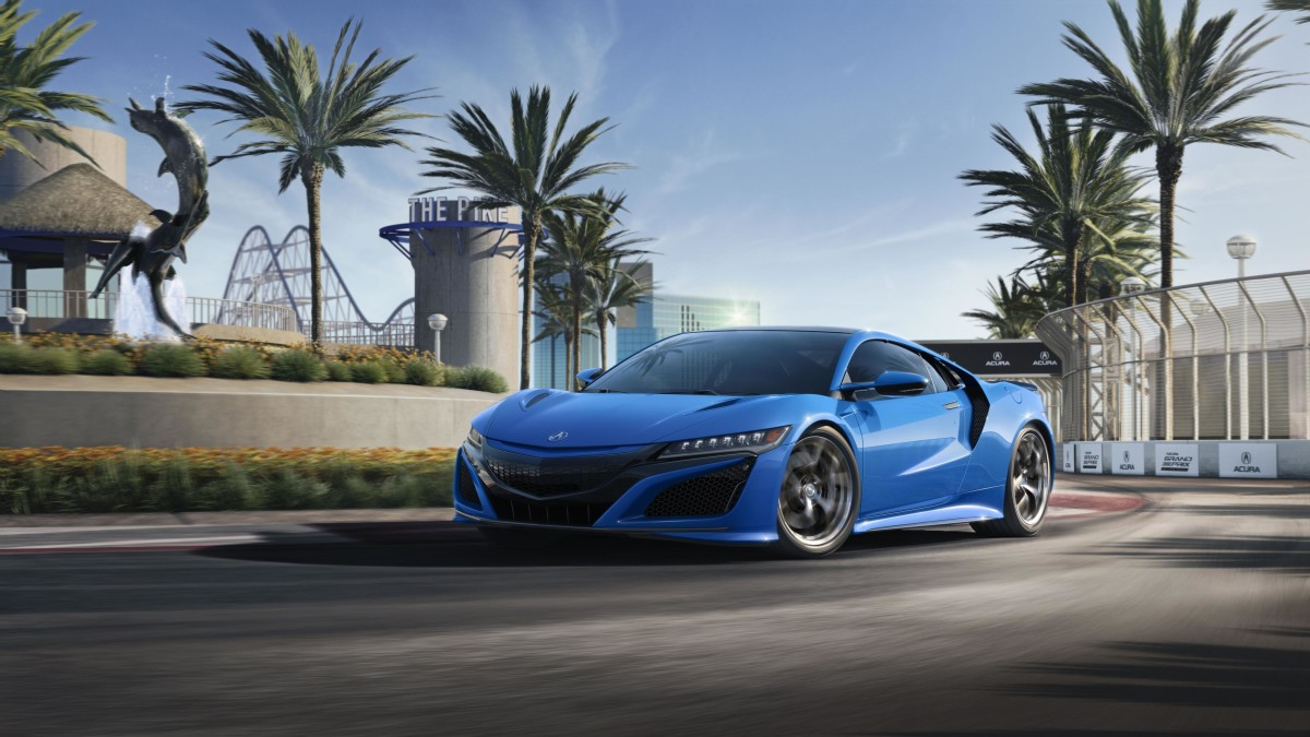 Acura Long Beach Blue NSX