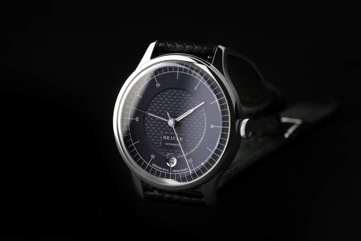 Bravur, Gert Wingårdh, and his son Rasmus Wingårdh showcase Scandinavian design excellence in a new watch