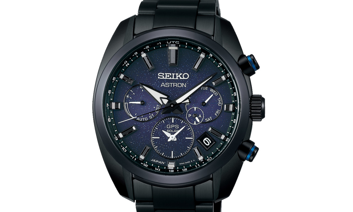 Seiko's Astron watches get a star-filled twist