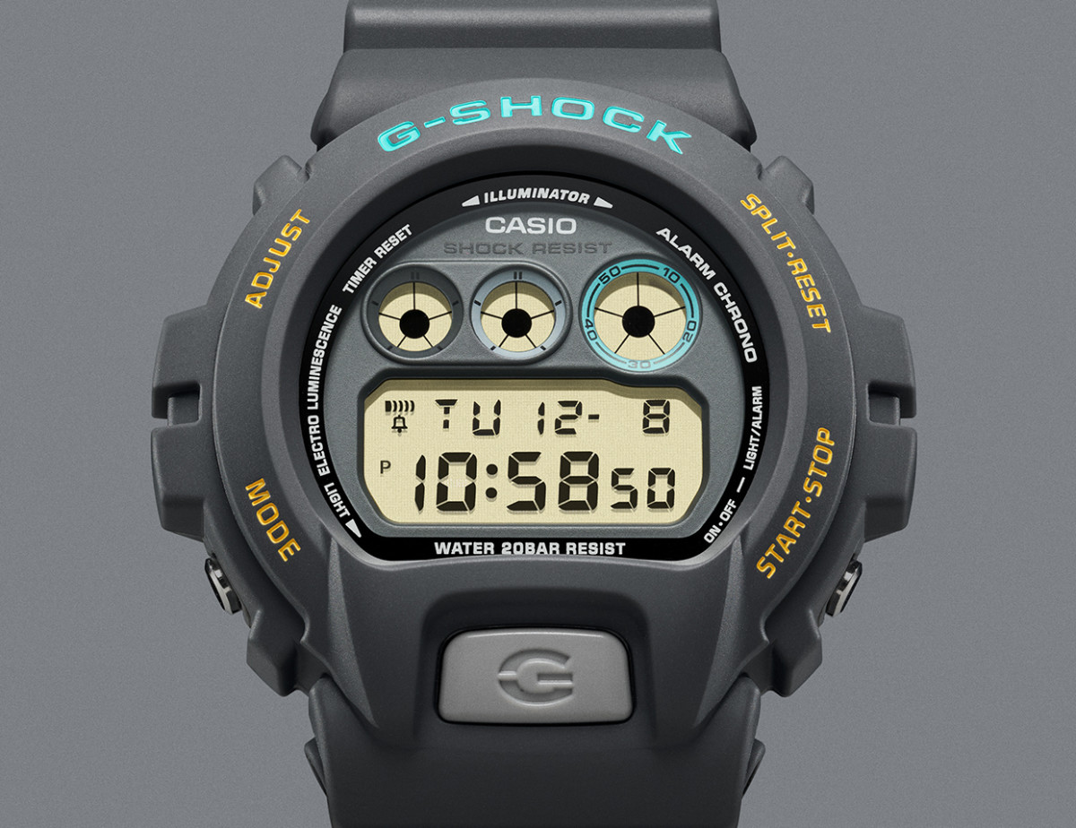 The Casio G-SHOCK Ref 6900 by John Mayer