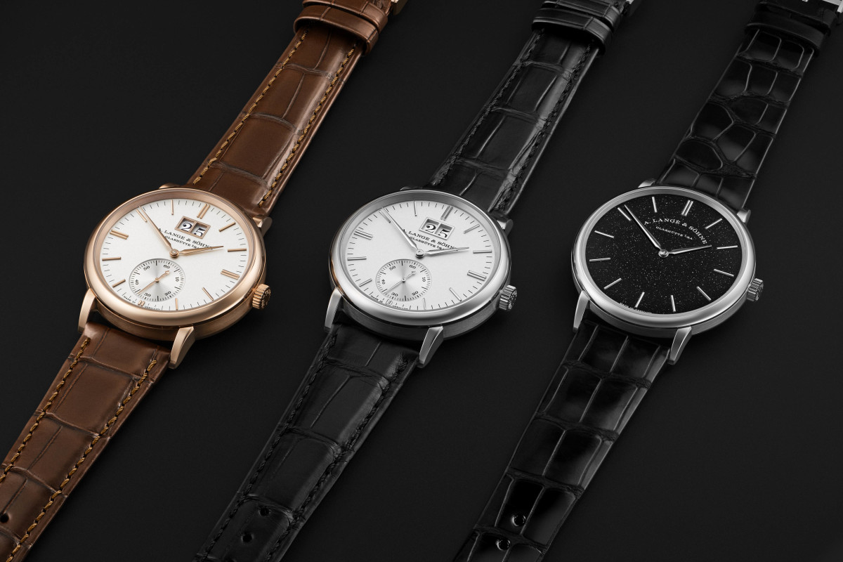 A. Lange & Sohne Saxonia Collection