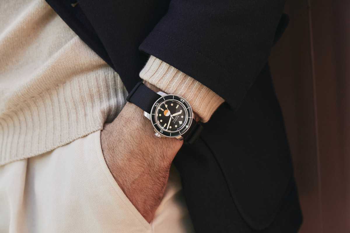 Blancpain teams up with Hodinkee for a Fifty Fathoms MIL-SPEC Limited Edition