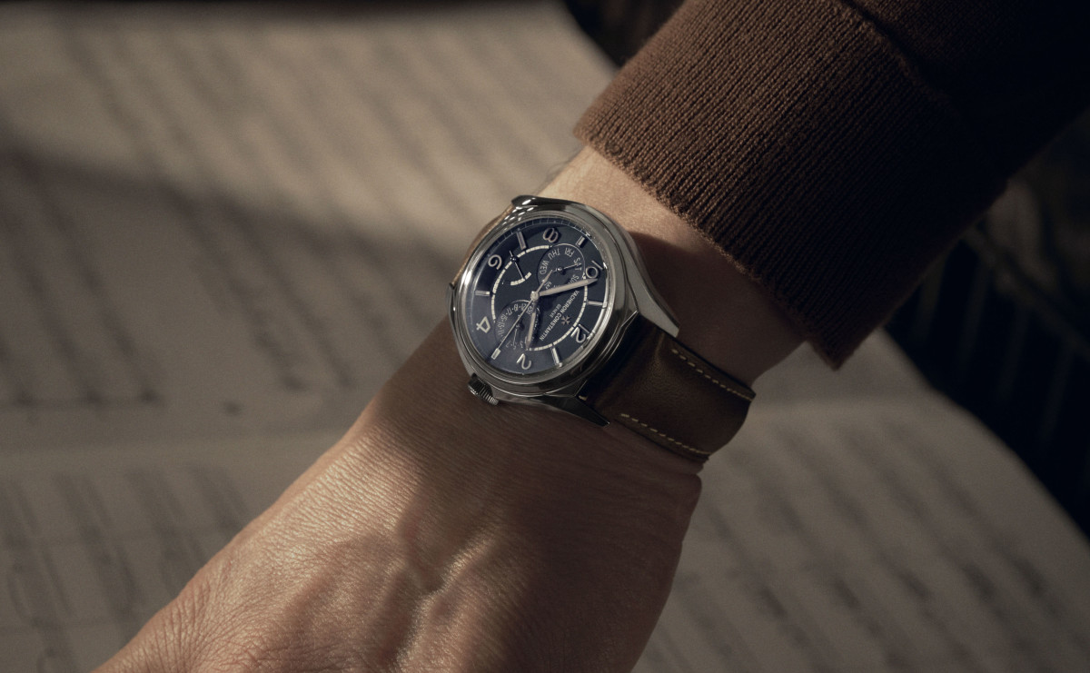 Vacheron Constantin releases a special edition Fiftysix day-date for MR PORTER
