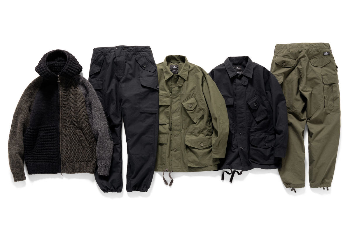 Haven x Engineered Garments Cascadia Collection