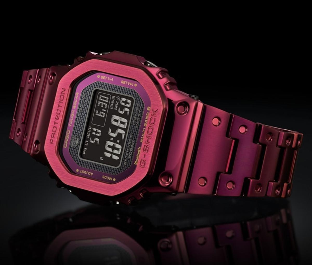 G-Shock GMW-B5000RD-4JF
