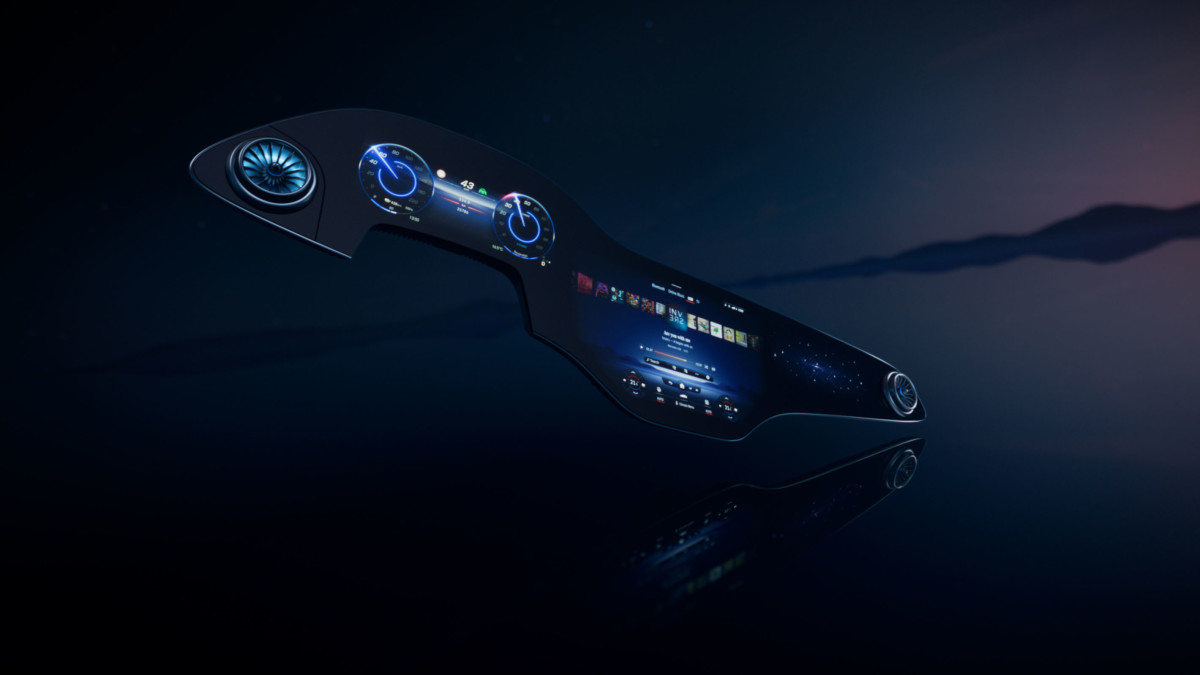 Mercedes-Benz Hyperscreen